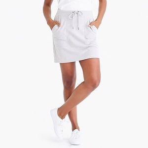 J. Crew Terry Cloth Skirt